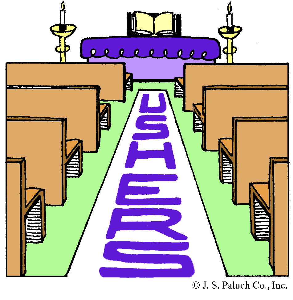 free clipart of church ushers - photo #11
