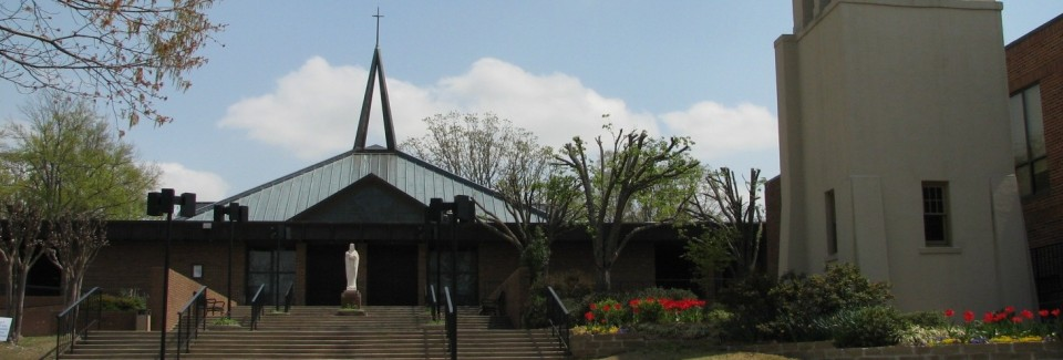 Front of Church - Spring